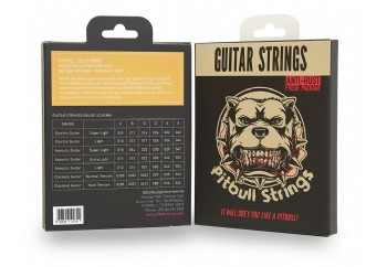 Pitbull Strings Gold Series GEG L Light Eski Versiyon - Elektro Gitar Teli 010-046