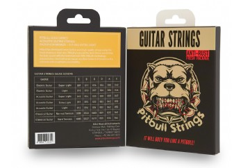 Pitbull Strings Gold Series GAG EL PB Extra Light Takım Tel