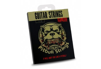 Pitbull Strings Gold Series GAG EL PB Extra Light Takım Tel - Akustik Gitar Teli 011-052
