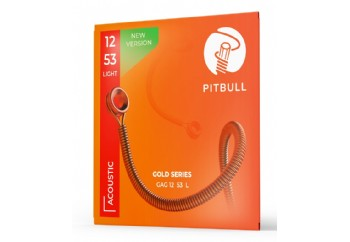 Pitbull Strings Gold Series GAG L PB Light Takım Tel - Akustik Gitar Teli 012-053