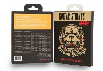 Pitbull Strings Gold Series GCG-F 0285-044 Hard Tension Takım Tel