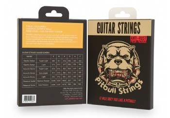 Pitbull Strings Gold Series GCG 0285-044 Hard Tension Takım Tel