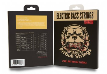 Pitbull Strings Gold Series GEB-4 L Light Takım Tel