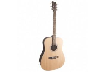 SX SD204 Trans Black - Akustik Gitar