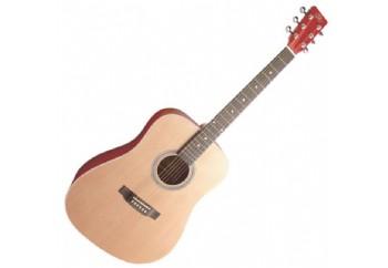 SX SD204 Trans Red - Akustik Gitar