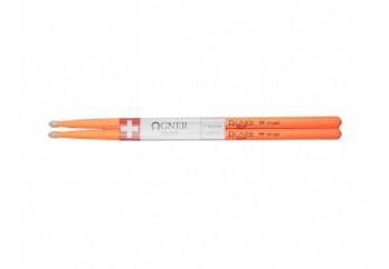 Agner Drumsticks UV Light Orange 5B - Baget