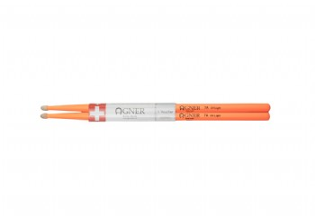 Agner Drumsticks UV Light Orange 7A - Baget
