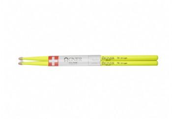 Agner Drumsticks UV Light Yellow 7A - Baget