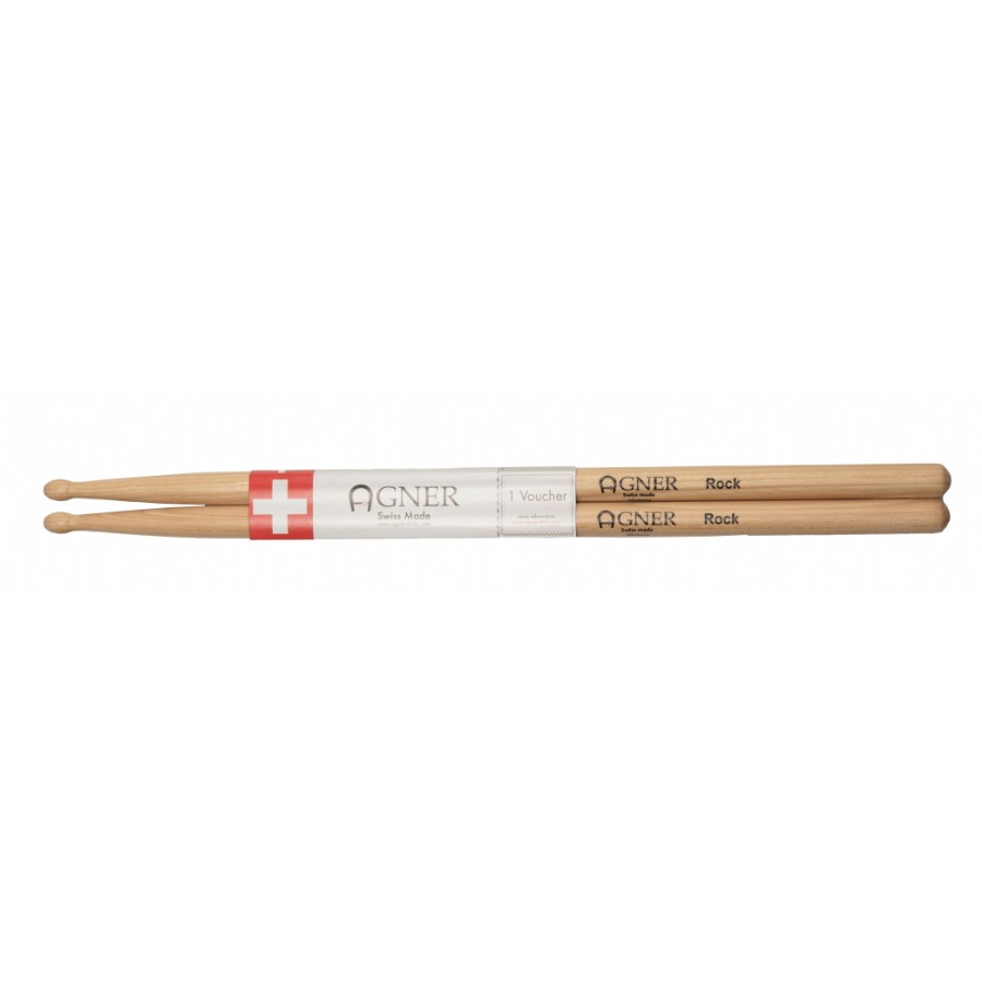 Agner Drumsticks Rock Hickory