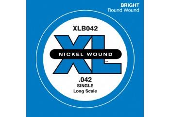 D'Addario Nickel Wound Single Long Scale .042 - Tek Tel - Bas Gitar Tek Telleri