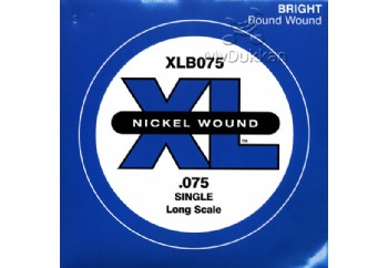 D'Addario Nickel Wound Single Long Scale .075 - Tel Tel - Bas Gitar Tek Telleri