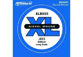 D'Addario Nickel Wound Single Long Scale .035 - Tek Tel - Bas Gitar Tek Telleri