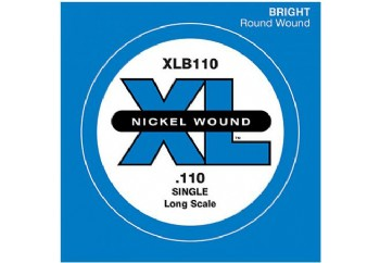 D'Addario Nickel Wound Single Long Scale .110 - Tek Tel - Bas Gitar Tek Telleri