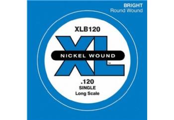 D'Addario Nickel Wound Single Long Scale .120 - Tek Tel - Bas Gitar Tek Telleri