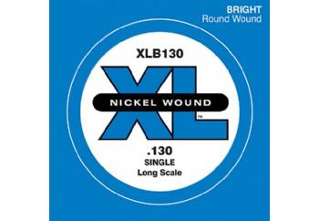 D'Addario Nickel Wound Single Long Scale .130 - Tek Tel - Bas Gitar Tek Telleri