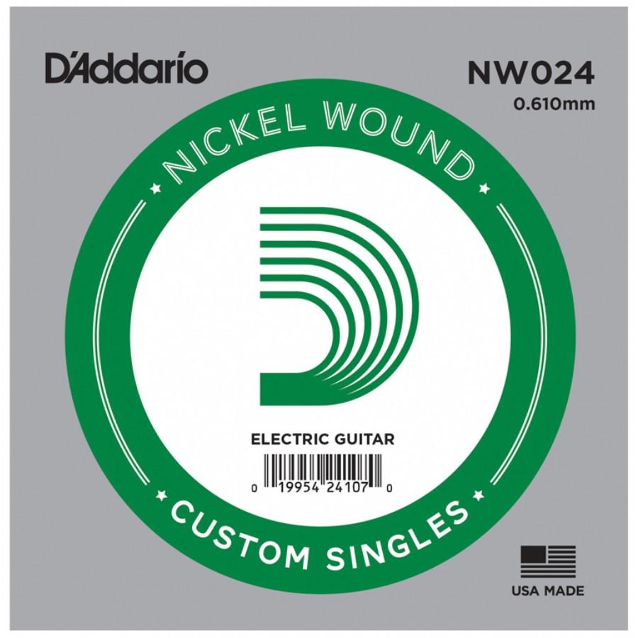 D'Addario Acoustic or Electric Nickel Wound Singles