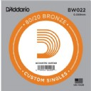 D'Addario Acoustic Guitar 80/20 Bronze Single