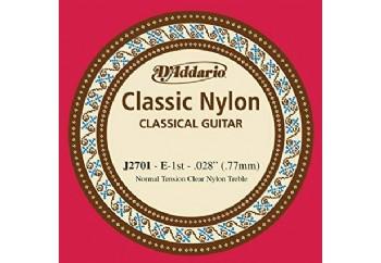 D'Addario Classic Nylon Normal Tension Clear Nyl Treble