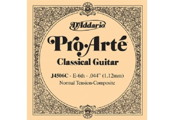 D'Addario Classic Guitar Normal Tension-Composite Single Mi-E - J4506C