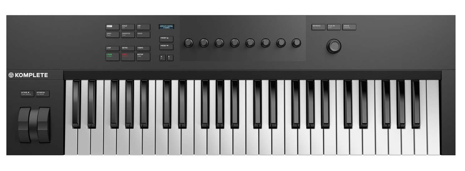 native instruments komplete kontrol a49 midi klavye 49 tu mydukkan. Black Bedroom Furniture Sets. Home Design Ideas