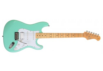 Kozmos KST-BSWHSS-GMN Surf Green - Elektro Gitar