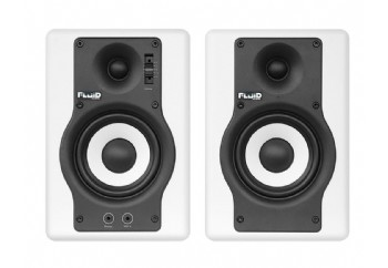 Fluid Audio F4 W - 4 inch bas sürücüye sahip yüksek kaliteli aktif referans stüdyo monitörü