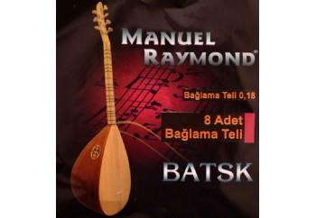 Manuel Raymond BATSK - Bağlama Teli 018