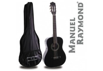 Manuel Raymond Junior  MRC87 Black - 1/2 Klasik Gitar