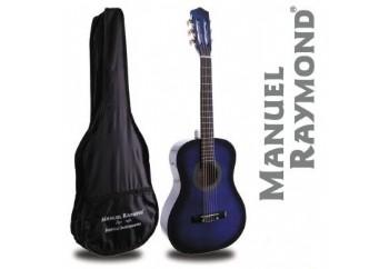 Manuel Raymond Junior  MRC87 Blue - 1/2 Klasik Gitar