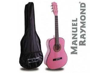 Manuel Raymond Junior  MRC87 Pink - 1/2 Klasik Gitar