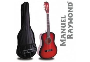 Manuel Raymond Junior  MRC87 Red - 1/2 Klasik Gitar