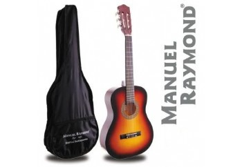 Manuel Raymond Junior  MRC87 Sunburst - 1/2 Klasik Gitar
