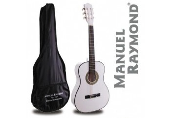 Manuel Raymond Junior  MRC87 White - 1/2 Klasik Gitar