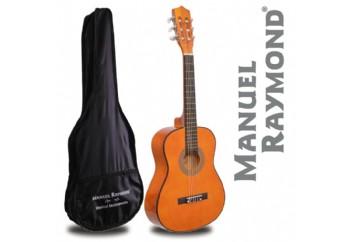 Manuel Raymond Junior  MRC87 Yellow - 1/2 Klasik Gitar