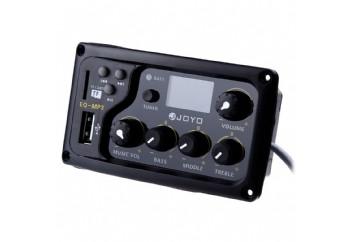 Joyo EQ - MP3 LCD Digital 3 Band EQ USB Pickup Preamp with Tuner - Ekolayzer