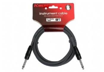 KIRLIN IPC201B3MBK - Enstrüman Kablosu (3 mt)