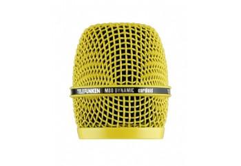 Telefunken Elektroakustik HD03 Yellow - M80 Dinamik Mikrofon için Kafa Izgarası