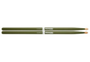 Promark Classic 5A Painted Sticks Green - Baget