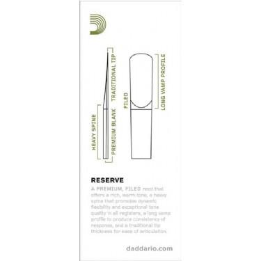 DAddario Reserve Tenor Sax Reeds