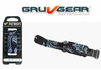 Gruv Gear FretWrap - Siyah Bandana Medium