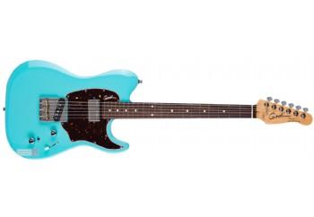 Godin Stadium '59 RN Coral Blue - Elektro Gitar