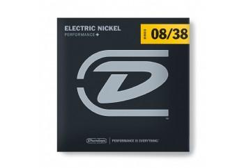 Dunlop DEN0838 Electric - Nickel Wound - Super Light - 6-String Set