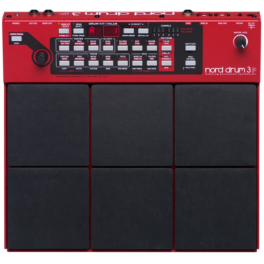 Nord Drum 3P Modeling Percussion Synthesizer Multi-pad