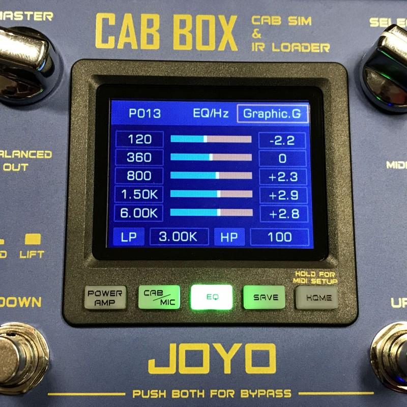 joyo r 08 cab guitar cabinet speaker simulator and ir loader kabin modelleme pedal. Black Bedroom Furniture Sets. Home Design Ideas