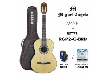 Miguel Angela PK-MA4-N - Klasik Gitar Seti
