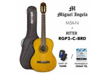 Miguel Angela PK-MA5-N - Klasik Gitar Seti