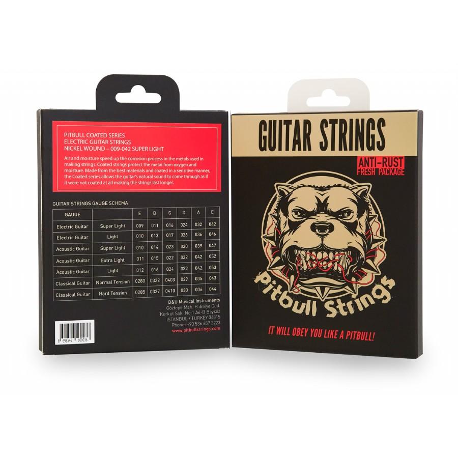 Pitbull Strings Coated Series CEG SL Super Light