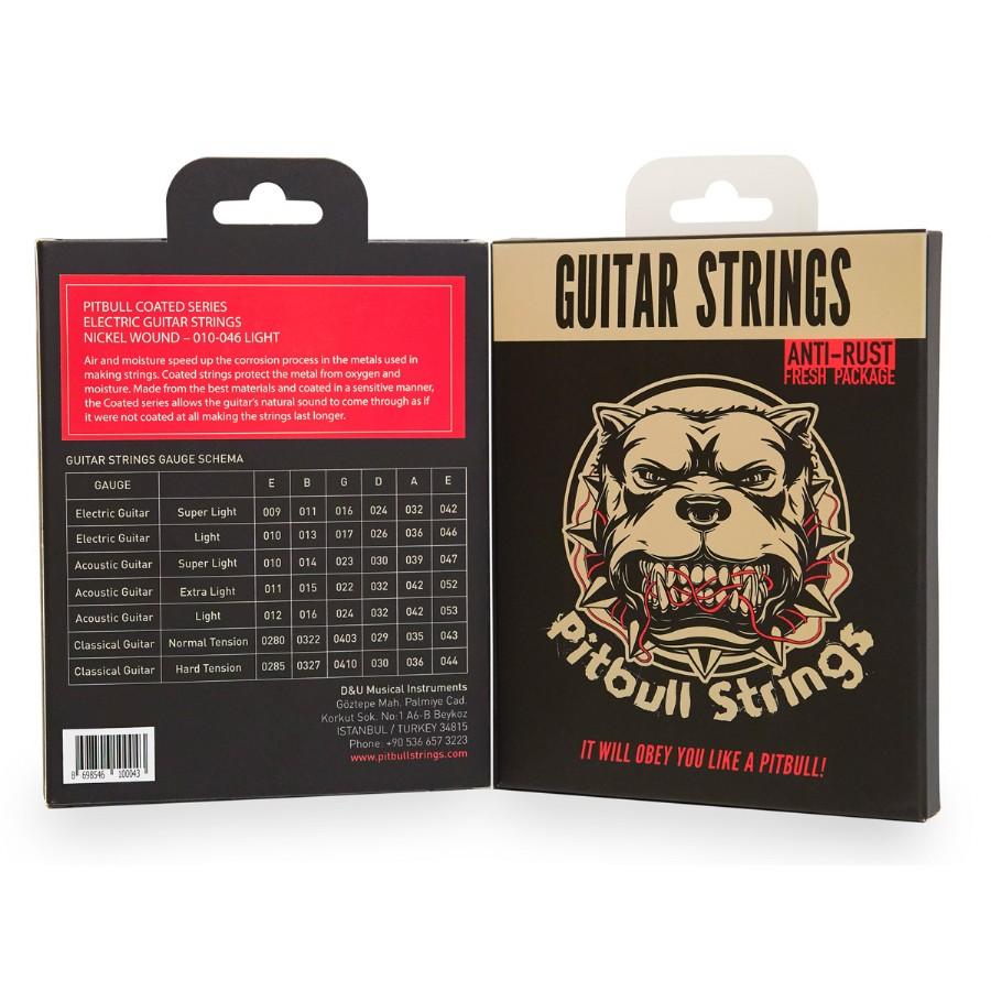 Pitbull Strings Coated Series CEG L Light