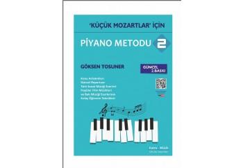 Küçük Mozartlar için Piyano Metodu 2 Kitap - Göksen Tosuner