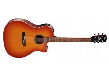 Cort GA-MEDX Light Vintage Burst - Elektro Akustik Gitar